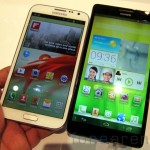 Samsung Galaxy Note 2 vs Huawei Ascend Mate-2