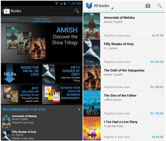 TECHNO WORLD: Google Play Books now available in India