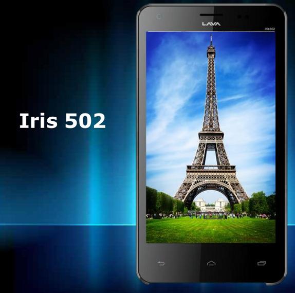 Lava Iris 502