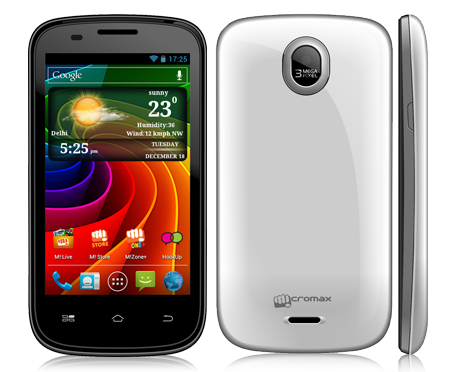 Micromax A89 Ninja with 1 GHz dual-core processor, Android 4.0 now ...