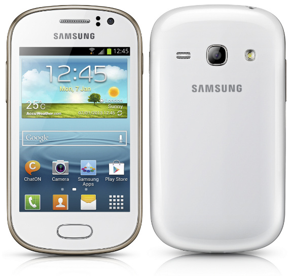 Samsung Galaxy Young and Galaxy Fame with 1 GHz processor, Android 4.1