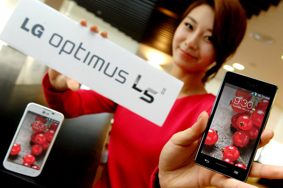 LG Optimus L5 II global roll out