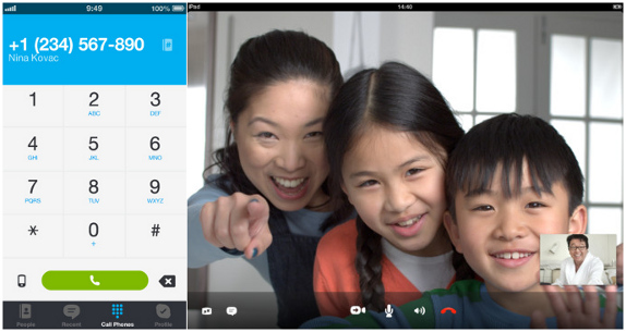 Skype for iPhone and iPad 4.6