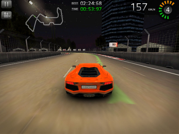 Sports Car Challenge For IPhone And IPad Gets A New Race Track And Gameplay  Features Photo