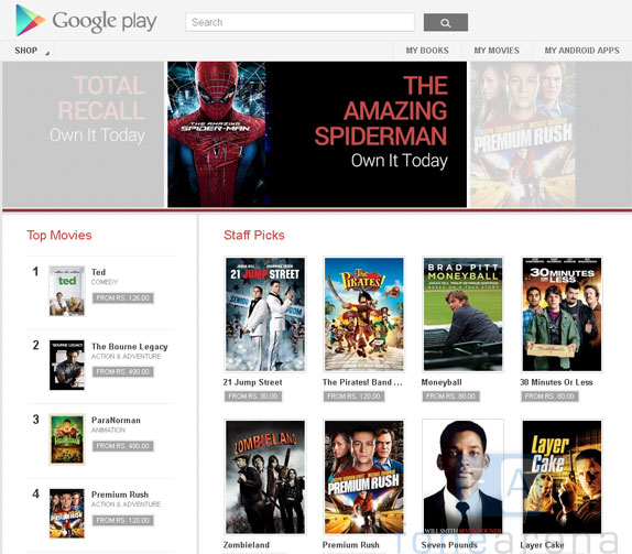 Google Rent: Google Play Movies Goes Live In India , Rent And Buy