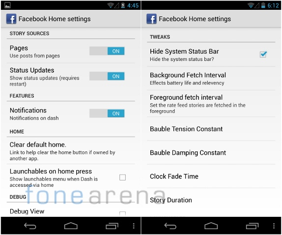 Facebook Home beta-1