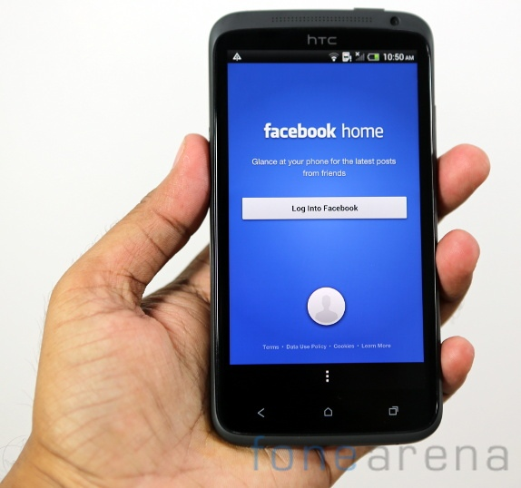 Facebook Home on HTC One X