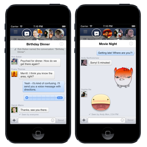 Facebook for iPhone v6.0