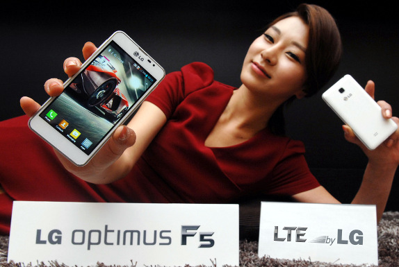 LG Optimus F5 global roll out