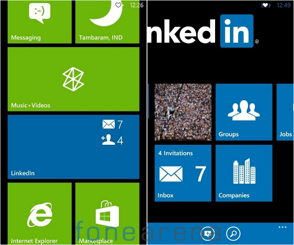 LinkedIn for Windows Phone