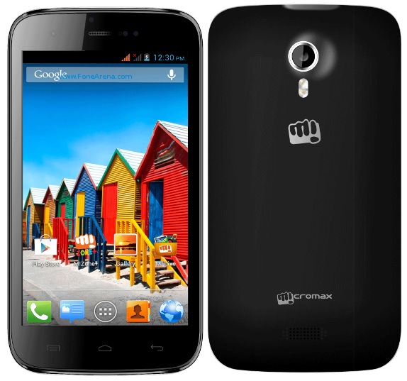 Micromax A115 Canvas 3D With 5-inch Display, Android 4.1