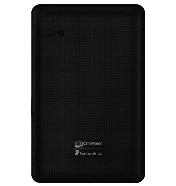Micromax Funbook 3G P560 with 7-inch display, 3G and Voice Calling ...