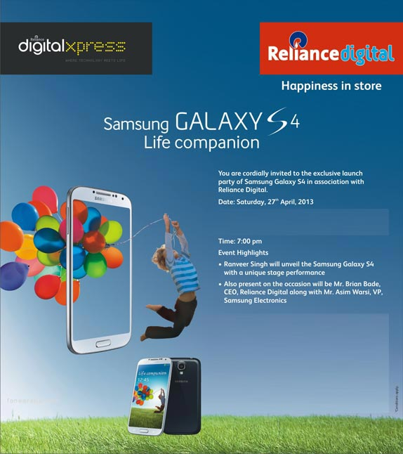 Reliance-Digital-Samsung-GalaxyS4-launch-event