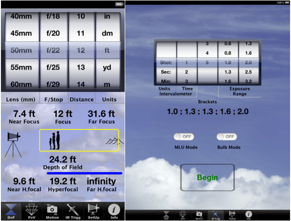 SetMyCamPro for iPhone and iPad