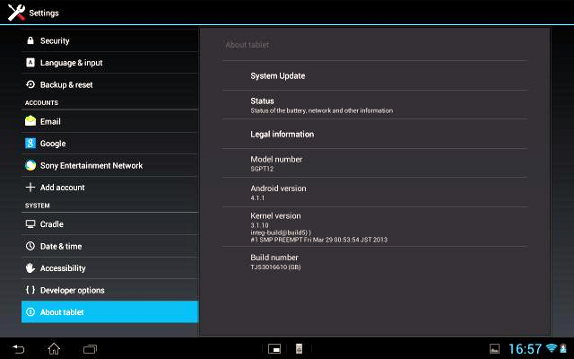 jelly bean 4.1 1 software