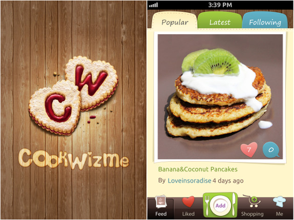 CookWizMe for iPhone