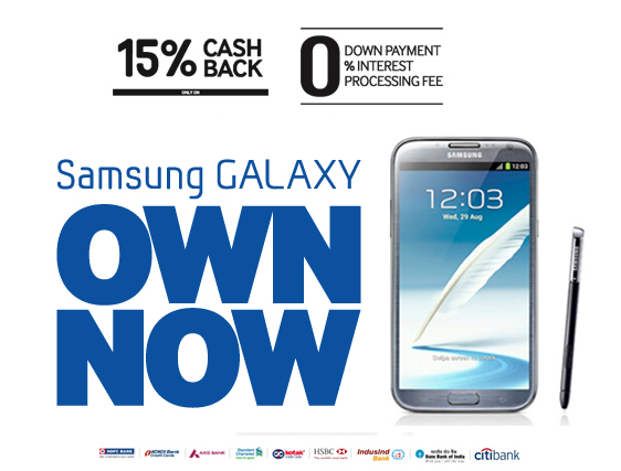 Galaxy Note 2 Cash Back