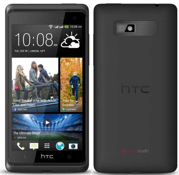 HTC Desire 600 dual sim with quad-core processor, BoomSound announced
