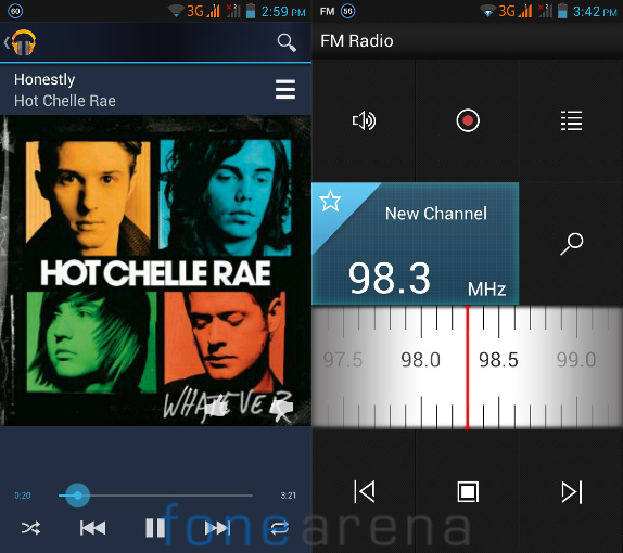 Lenovo P770 Music Player and FM