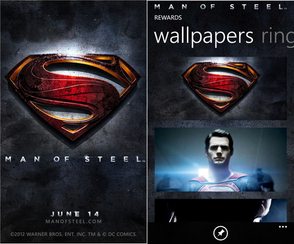 Man of Steel for Nokia Lumia