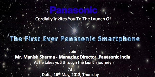 Panasonic-India-Smartphone-Launch-Invite