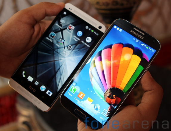 Samsung Galaxy S4 vs HTC One Benchmarks