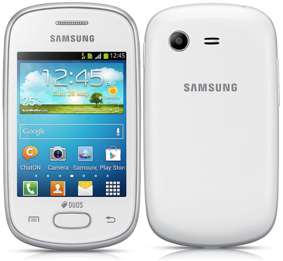 samsung galaxy star duos gt s5282 an entry level android smartphone