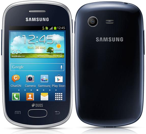 the samsung galaxy y plus and the galaxy young went