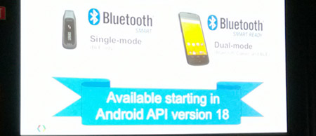 Next version of Android to be Bluetooth Smart ready