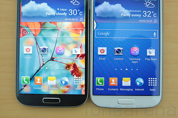 how to go back on samsung galaxy s4