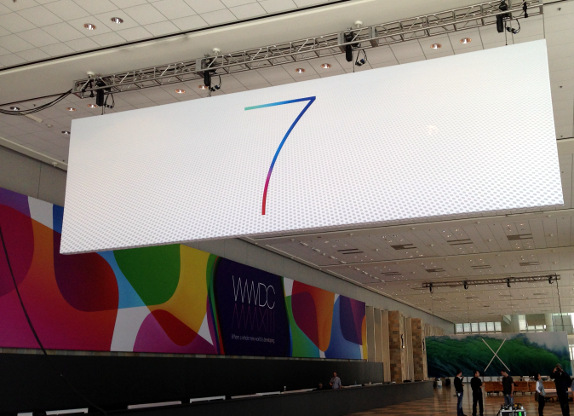Apple WWDC iOS 7 Bannger