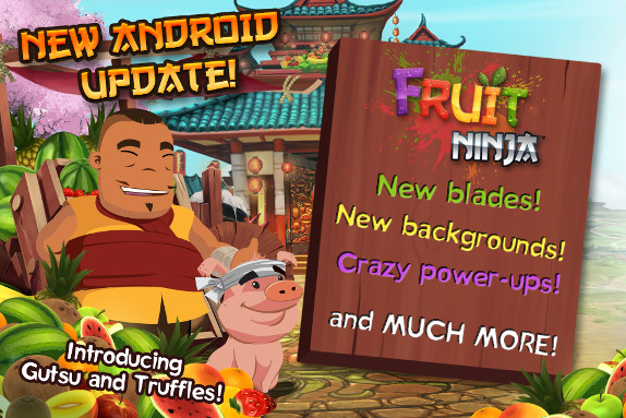Fruit Ninja for Android v1.8.6