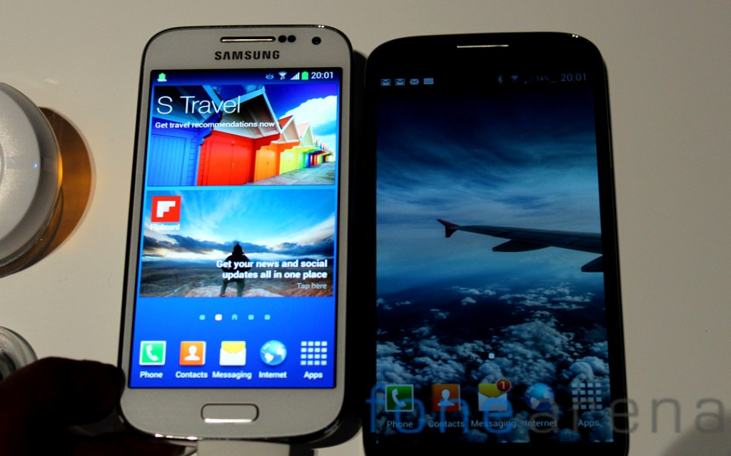 Galaxy-S4-Mini-vs-Galaxy-S4-Front2