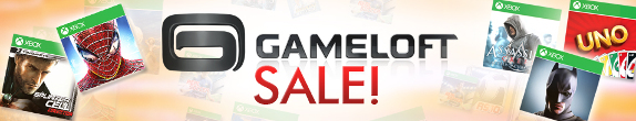 Gameloft Windows Phone Games Sale