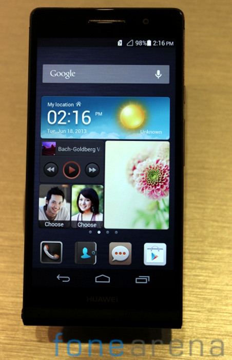 Huawei-Ascend-P6-Black-Front-Hero