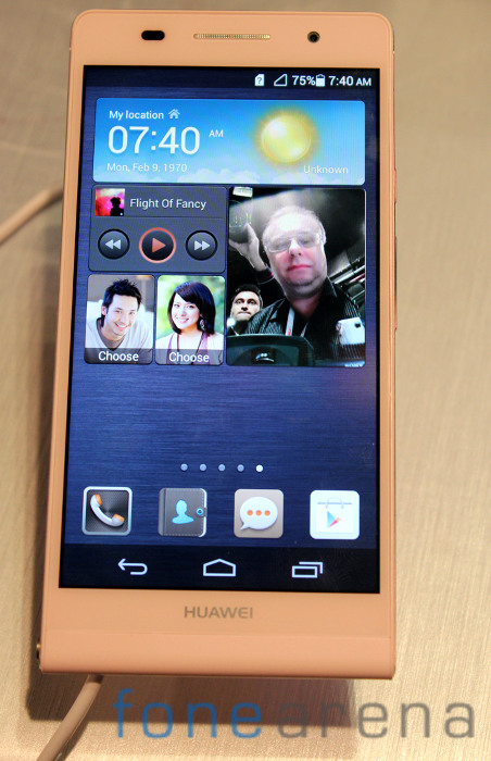 Huawei-Ascend-P6-Pink-Front