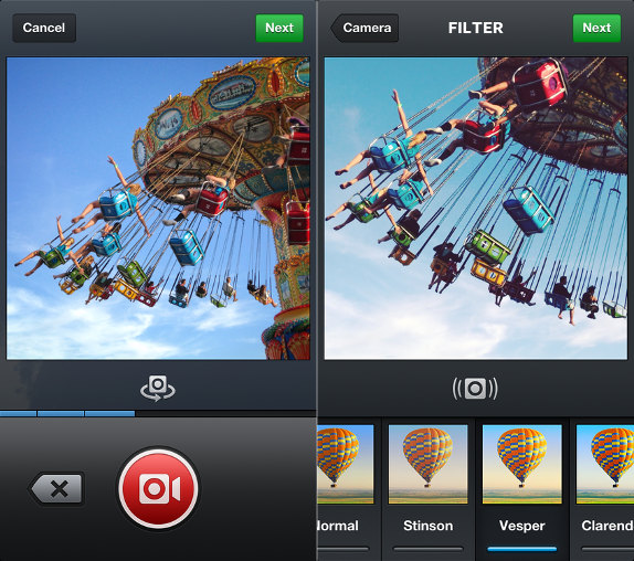 Instagram 4.0 for Android and iPhone