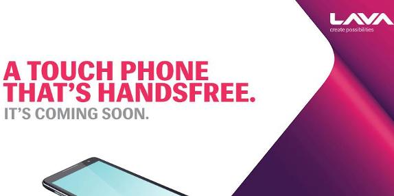 Lava Iris Handsfree Smartphone