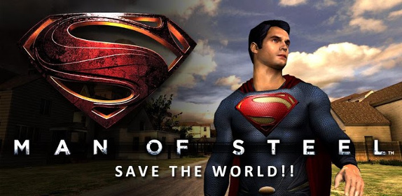 Man of Steel v1.0.5~8 Apk+SD Data(OBB) (2013)