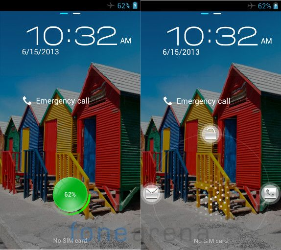 Micromax A88 Canvas Music Lock Screen