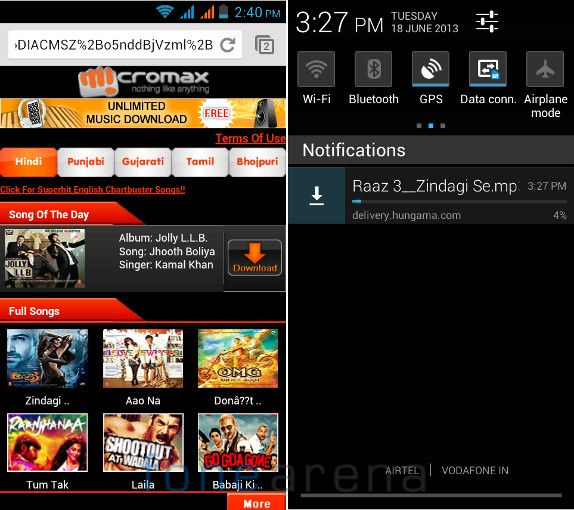 Micromax A88 Canvas Music M! Live