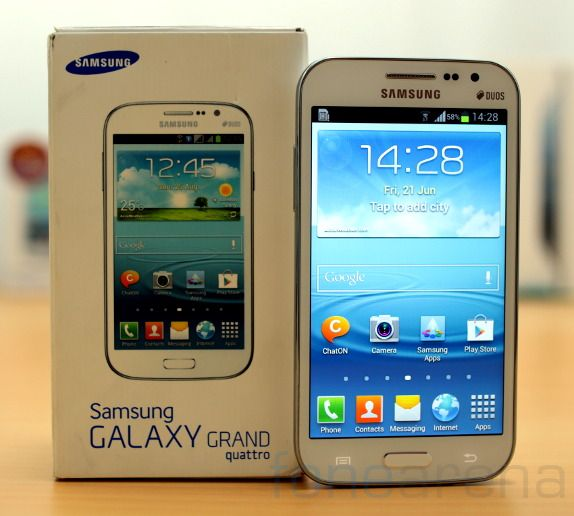 Samsung Galaxy Grand Quattro terbaru