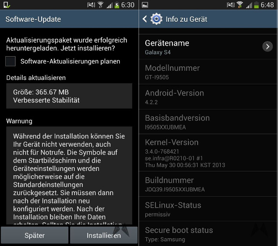 Samsung Galaxy S4 software update brings option to move apps to SD