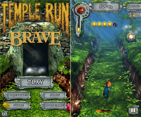 Temple Run: Brave for Windows Phone 8