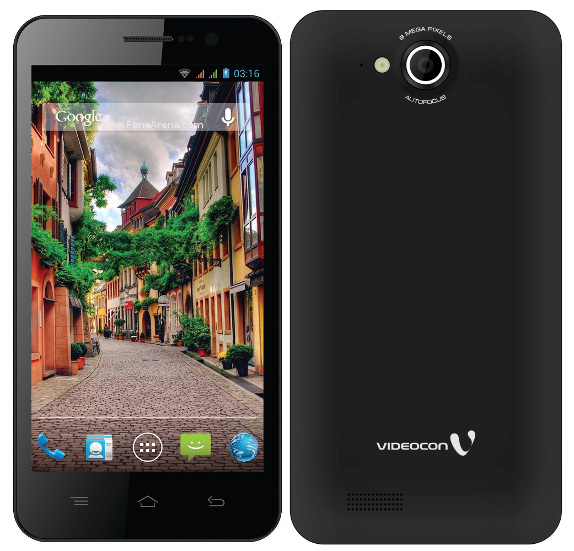 Videocon A55HD with 5-inch HD display, quad-core processor ...