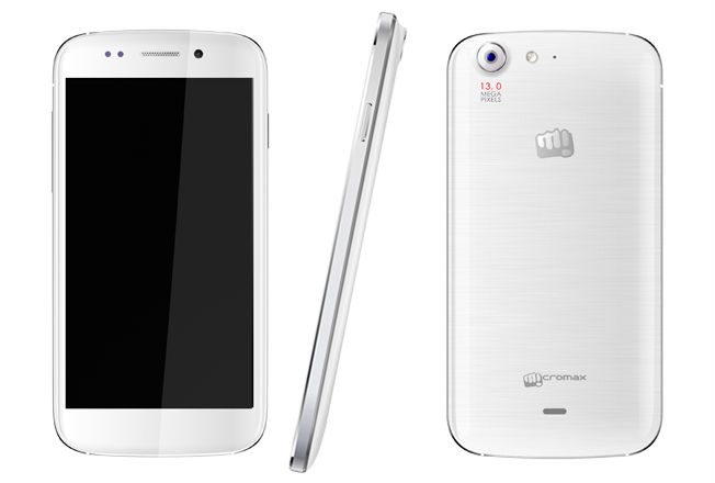 Newly Launched Micromax Canvas 4 A210 Unlocked 13 MP Camera Quad ...