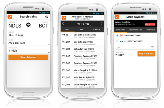 Cleartrip for Android v3.0