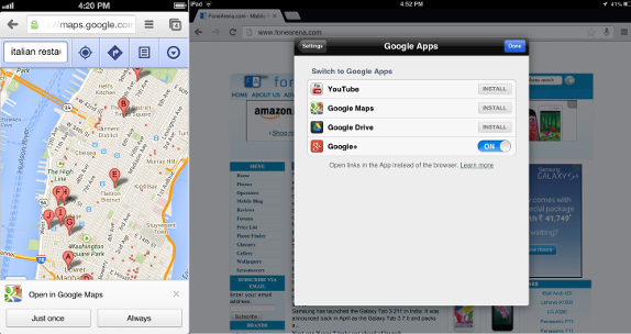 Google Chrome iPhone and iPad v28