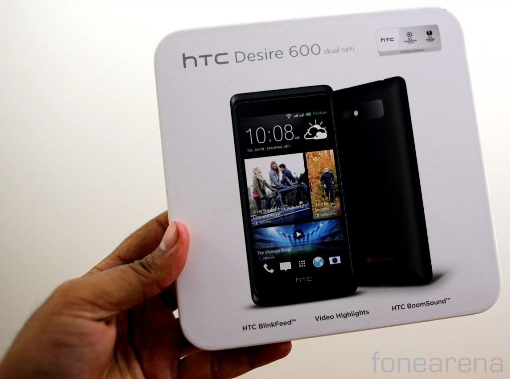 HTC Desire 600 Dual SIM Unboxing-1