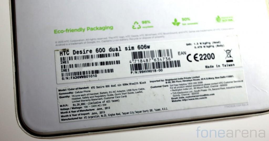 HTC Desire 600 Dual SIM Unboxing-2